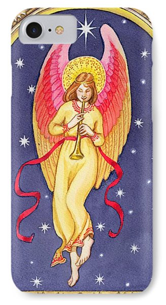 Herald Angel Phone Case by Lavinia Hamer
