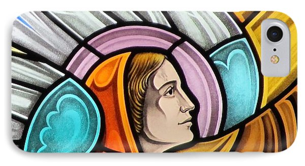Heralding Angel IPhone Case by Gilroy Stained Glass