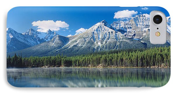 Herbert Lake Banff National Park Canada IPhone Case by Panoramic Images