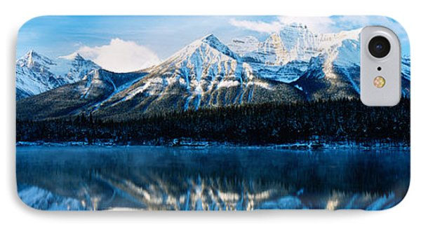 Herbert Lake, Banff National Park IPhone Case by Panoramic Images