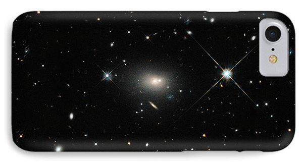 Hercules A Galaxy IPhone Case by Nasa, Esa, S. Baum And C. O'dea (rit), And The Hubble Heritage Team (stsci/aura)