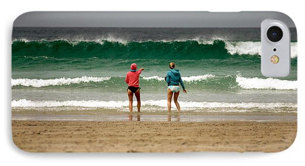 IPhone Case featuring the photograph Here Comes The Big One by Terri Waters