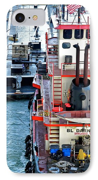 Here Comes The Diesel Fuel For The Ship IPhone Case by Kirsten Giving