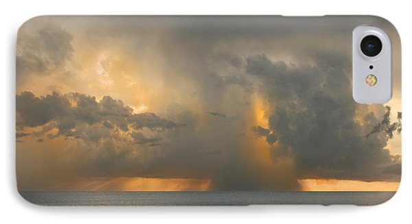 Here Comes The Rain. IPhone Case by Mariarosa Rockefeller