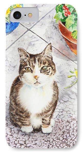 Here Kitty Kitty Kitty IPhone Case