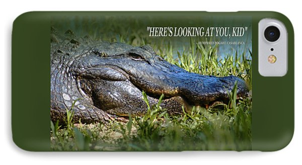 Here's Looking At You Kid IPhone Case by Bob Pardue