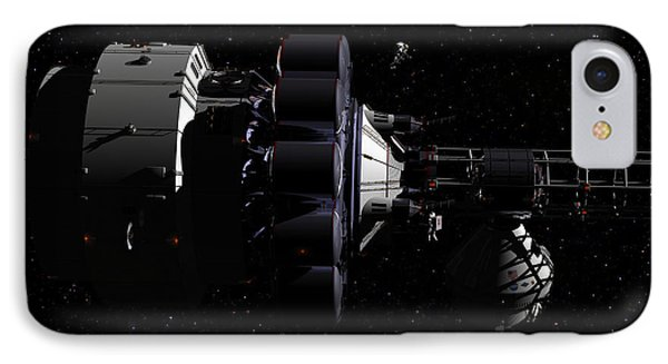 Hermes1 In Route Wih Only Stars To Guide You IPhone Case by David Robinson