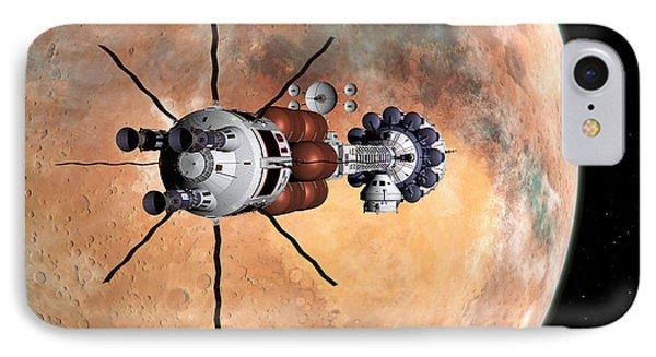 Hermes1 Realign Orbital Path IPhone Case by David Robinson