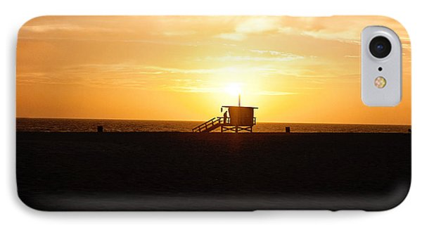 Hermosa Beach Sunset Phone Case by Scott Pellegrin