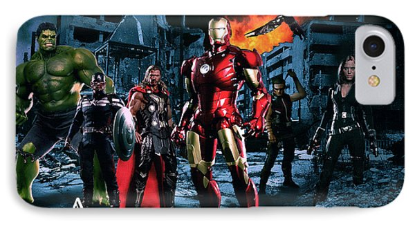 Heroes 2 IPhone Case by Christian Colman