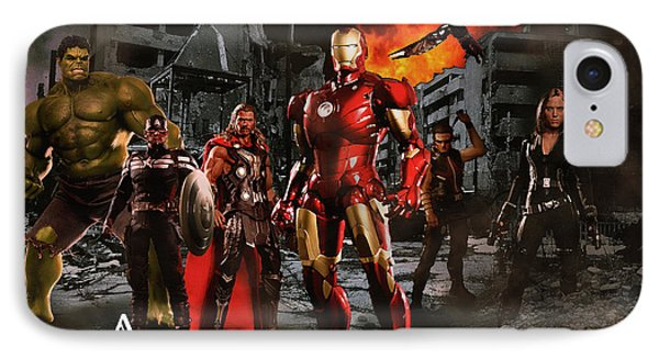Heroes 3 IPhone Case by Christian Colman