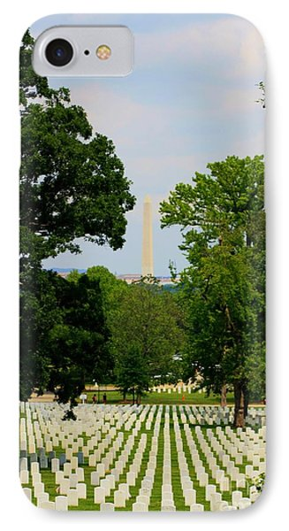 Heroes And A Monument Phone Case by Patti Whitten