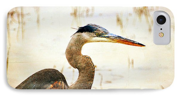 Heron 33 Phone Case by Marty Koch