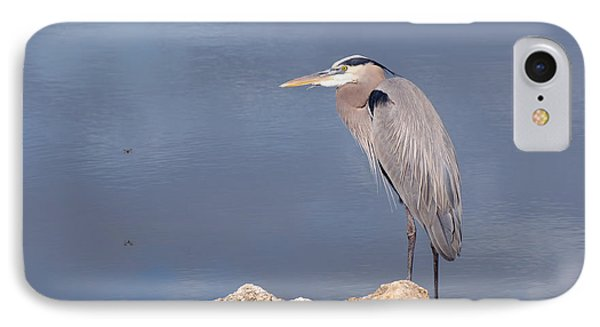 Heron And Pond Phone Case by Kenny Francis
