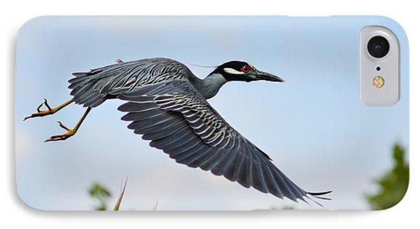 Heron Flight IPhone Case by Laura Fasulo