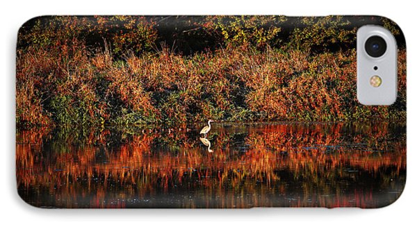 Heron Hideaway IPhone Case
