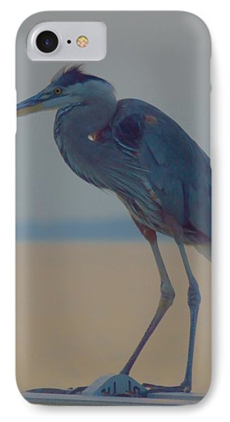 Heron Portrait IPhone Case