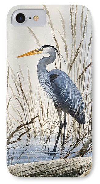 Herons Natural World IPhone Case by James Williamson