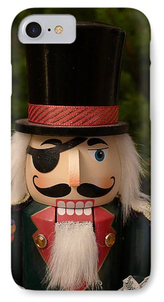 Herr Drosselmeyer Nutcracker IPhone Case by Richard Reeve