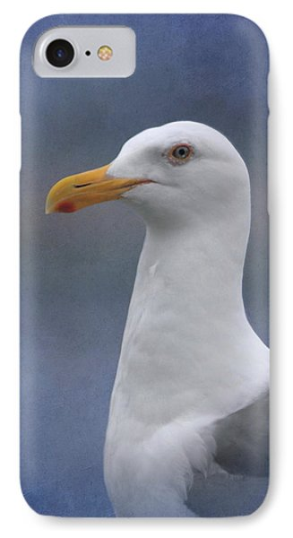 Herring Gull IPhone Case by Angie Vogel
