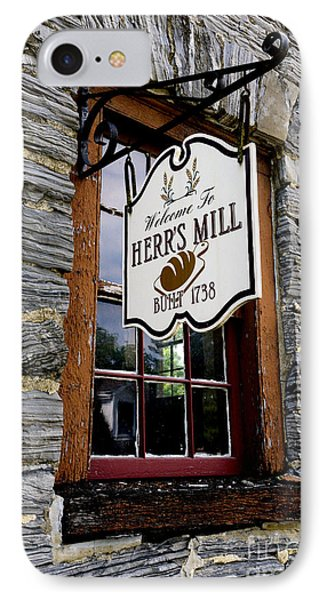 Herrs Mill - Lancaster IPhone Case by Paul W Faust -  Impressions of Light