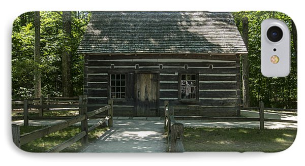 Hesler Log House #2 Phone Case by Paul Cannon