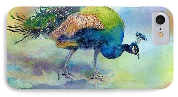 Peacock iPhone 7 Case - Hey Good Lookin by Amy Kirkpatrick