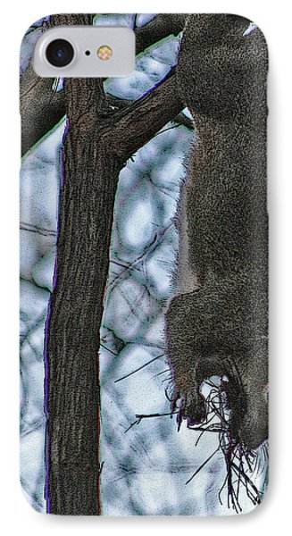 Hey I'm Upside Down IPhone Case by D Wallace