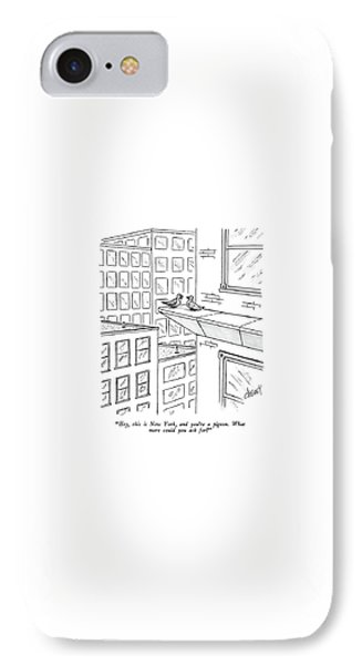 Hey, This Is New York, And You're A Pigeon.  What IPhone Case