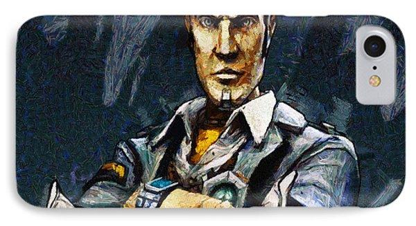 Hey Vault Hunter Handsome Jack Here IPhone Case by Joe Misrasi