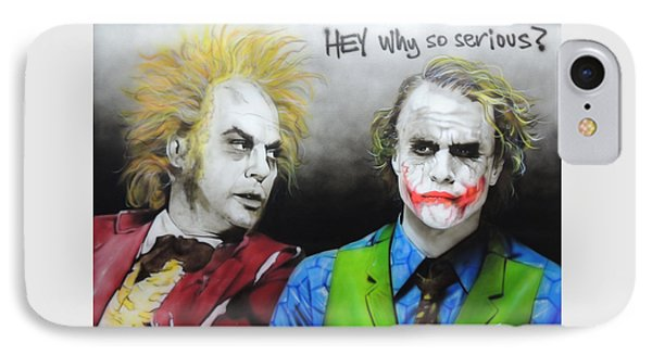Hey, Why So Serious? IPhone 7 Case