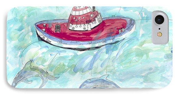 Hi Tide IPhone Case by Helen Holden-Gladsky