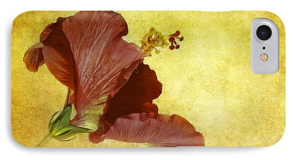 Hibiscus IPhone Case by Cyndy Doty