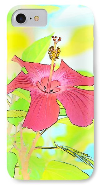 IPhone Case featuring the photograph Hibiscus Dream by Cathy Shiflett