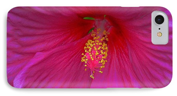 Hibiscus IPhone Case by Erica Hanel
