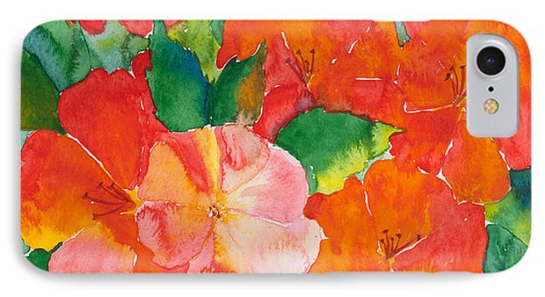 Hibiscus Flowers Phone Case by Michelle Wiarda