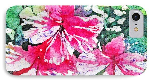 Hibiscus In The Sun IPhone Case