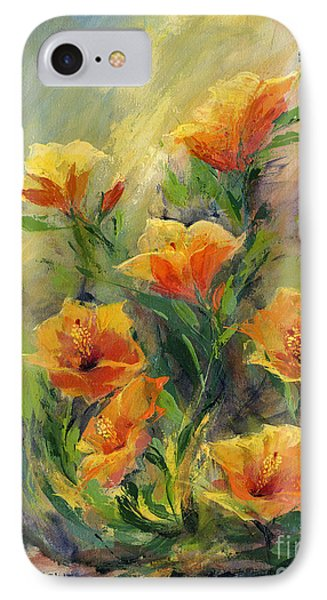 Hibiscus Phone Case by Madeleine Holzberg