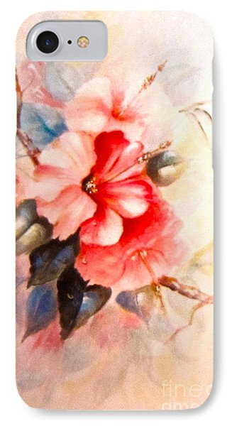 IPhone Case featuring the painting Hibiscus by Patricia Schneider Mitchell
