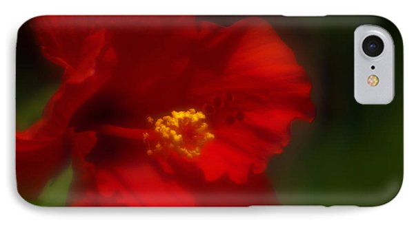 Hibiscus Softly 2 IPhone Case by Travis Burgess