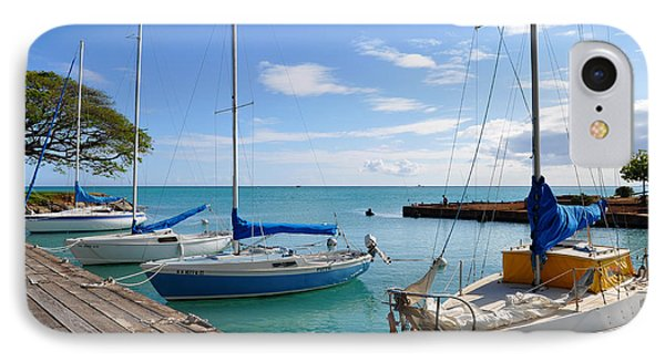 IPhone Case featuring the photograph Hickam Harbor by Gina Savage
