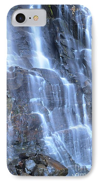 Hickory Nut Falls Chimney Rock State Park Nc IPhone Case by Dustin K Ryan