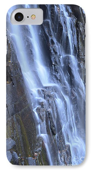 Hickory Nut Falls Waterfall Nc IPhone Case by Dustin K Ryan