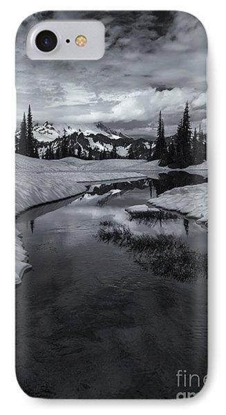 Hidden Beneath The Clouds Phone Case by Mike  Dawson