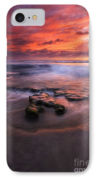 Hidden By The Tides Phone Case by Mike  Dawson