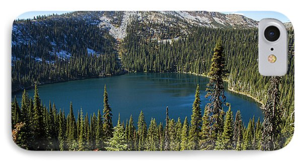 Hidden Lake In Idaho IPhone Case by For Ninety One Days