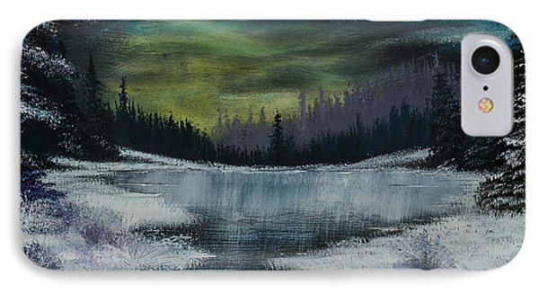 Hidden Lake IPhone Case by Shannon Wells