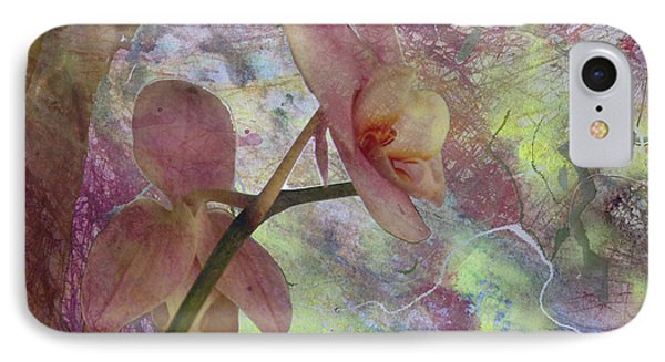 Hidden Orchid IPhone Case by Donna Walsh