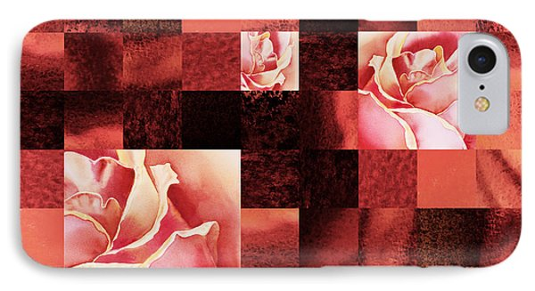 Hidden Roses Squared  IPhone Case by Irina Sztukowski