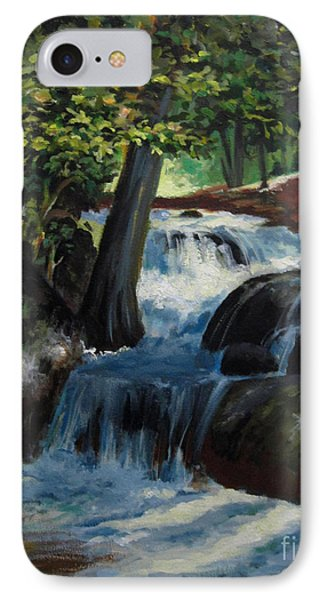 Hidden Waterfall 2 IPhone Case by Carol Hart